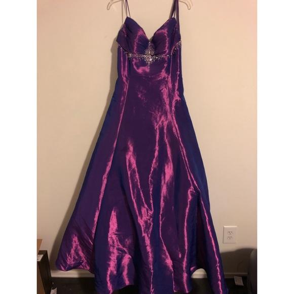 90s Style Prom Dress